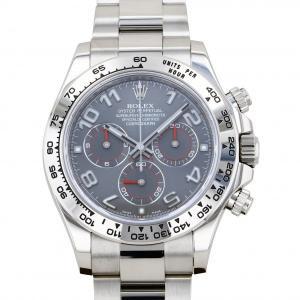 ロレックス ROLEX デイトナ 116509 グレーアラビア文字盤 中古 腕時計 メンズ|gc-yukizaki