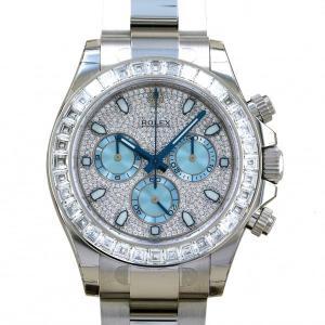 ロレックス ROLEX デイトナ 116576TBR 全面ダイヤ/アイスブルー文字盤文字盤 新品 腕時計 メンズ|gc-yukizaki