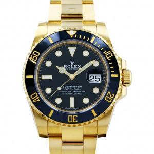 ロレックス ROLEX サブマリーナ デイト 116618LN ブラック文字盤 中古 腕時計 メンズ|gc-yukizaki