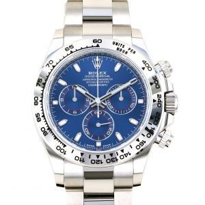 ロレックス ROLEX デイトナ 116509 ブルー文字盤 新品 腕時計 メンズ|gc-yukizaki