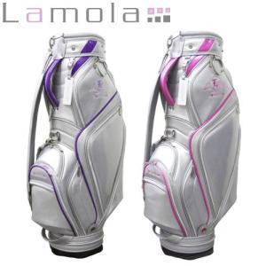 Lamola(ラモーラ) レディース エナメル キャディバッグ|gcj-shop
