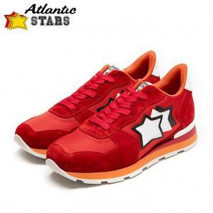 Atlantic STARS(アトランティックスターズ)スニーカー ANTARES FR-85B レッド|gcj-shop