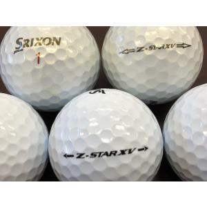 ロストボール Aランク ダンロップ SRIXON Z-STAR XV 2013・2015年モデル (3色混合)☆24個