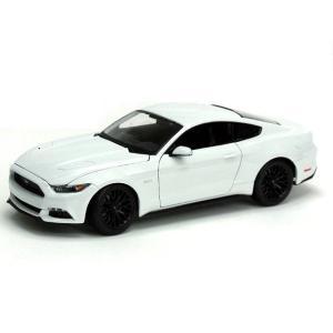 新品 | MAISTO SE2015 フォード マスタング ホワイト 1:18|gcs-net