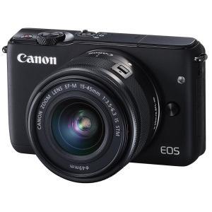 展示品 Canon キヤノン EOS M10 EF-M15-45 IS STM レンズキット [ブラック]メーカー保証1年付|gcs-net