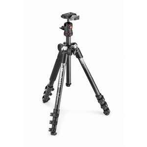Manfrotto マンフロット BEFREE アルミニウム三脚ボール雲台キット MKBFRA4GY-BH|gcs-net
