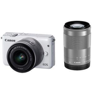 展示品 Canon キヤノン EOS M10 ダブルズームキ...