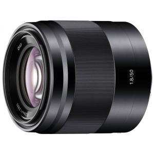 新品 E 50mm F1.8 OSS ブラック SEL50F18 Eマウント用 APS-C対応 在庫有り ソニー|gcs-net