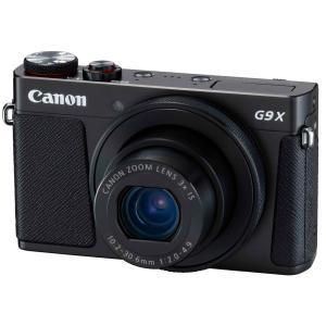 Canon キヤノン PowerShot G9 X Mark II ブラック【取り寄せ品】|gcs-net