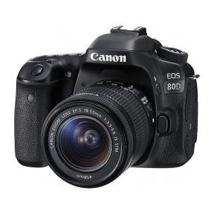 【新品】Canon キヤノン EOS 80D EF-S18-55 IS STM レンズキット【お取り寄せ品】|gcs-net