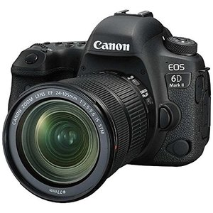 Canon キヤノン EOS 6D Mark II EF24-105 IS STM レンズキット【お取り寄せ品】|gcs-net