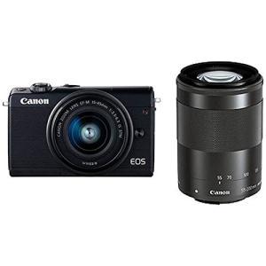 Canon キヤノン EOS M100 ダブルズームキット [ブラック]【お取り寄せ品】|gcs-net