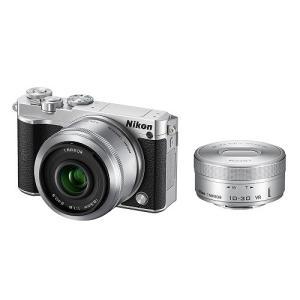 Nikon ニコン 1 J5 ダブルレンズキット [シルバー]【お取り寄せ品】|gcs-net
