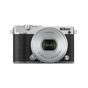 Nikon ニコン 1 J5 標準パワーズームレンズキット [シルバー]【お取り寄せ品】|gcs-net