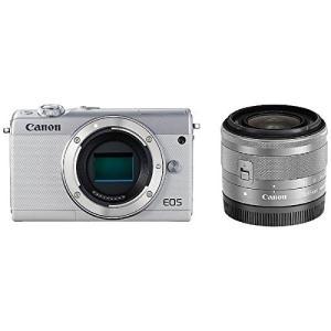 Canon キヤノン EOS M100 EF-M15-45 IS STM レンズキット [ホワイト]【お取り寄せ品】|gcs-net