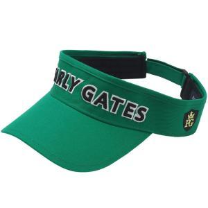 パーリーゲイツ PEARLY GATES ツイルサンバイザー