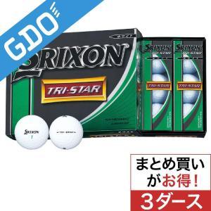 ダンロップ SRIXON TRI-STAR ボール 3ダースセット ボール