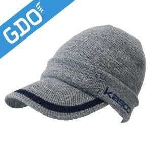 キャスコ KASCO つば付きニットキャップ GDKC-1530W 帽子|gdoshop