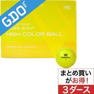 WOSS ウォズ ハイカラーボール 3ダースセット ボール