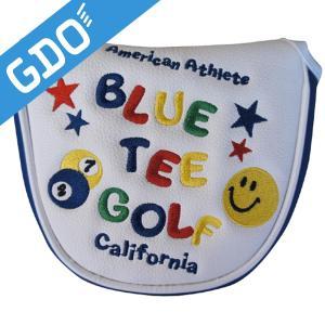 ブルーティーゴルフ BLUE TEE GOLF スマイル&ピンボール パターカバー ヘッドカバー