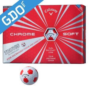 キャロウェイゴルフ CHROM SOFT クロムソフトボール TRUVIS ボール|gdoshop