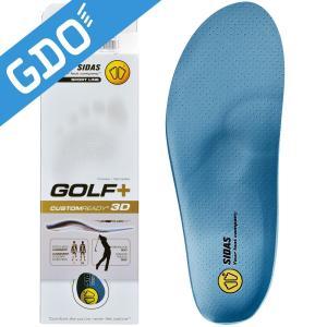 シダス インソール ゴルフ用 ゴルフプラス XS 20110160 ブルー XS(22.0cm-23.0cm)の商品画像 ナビ