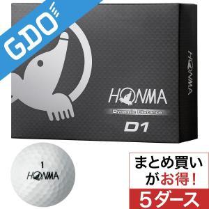 本間ゴルフ HONMA D1 ボール 5ダースセット