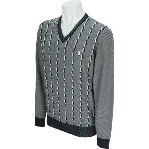 ブラック&ホワイト Black & White セーター 2217GF-KP 中間着(セーター、トレーナー) gdoshop