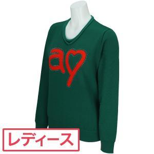 アルチビオ ARCHIVIO 長袖丸首セーター A718908 レディス 中間着(セーター、トレーナー) gdoshop