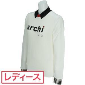 アルチビオ ARCHIVIO 長袖トレーナー A719905 レディス 中間着(セーター、トレーナー) gdoshop
