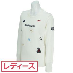 アンパスィ and per se セーター 2307FF-C5 レディス 中間着(セーター、トレーナー) gdoshop