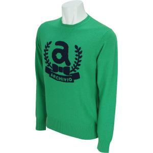 アルチビオ ARCHIVIO 長袖丸首セーター A628005 中間着(セーター、トレーナー) gdoshop