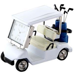 ミニチュアクロックコレクション ミニチュア置時計 ゴルフカート