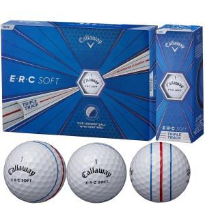 キャロウェイゴルフ E・R・C ERC SOFT 19 TRIPLE TRACK ボール