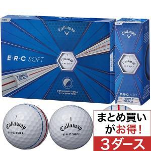 キャロウェイゴルフ E・R・C ERC SOFT 19 TRIPLE TRACK ボール 3ダースセット