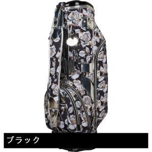 WINWIN STYLE ウィンウィンスタイル YANCHA SKULL ROSE Silver Ver. キャディバッグ gdoshop 02