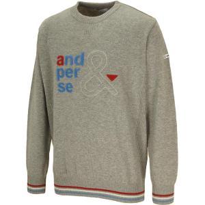 アンパスィ and per se クルーネックセーター|gdoshop
