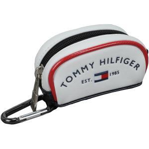 トミー ヒルフィガー ゴルフ TOMMY HILFIGER GOLF ラウンドロゴボールケース|gdoshop