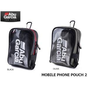 アブガルシア MOBILE PHONE POUCH 2 モバイルフォンポーチ2 1424112 1429501 アブ・ガルシア Abu Garcia ABU06|geak