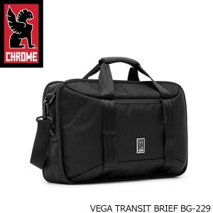クローム CHROME ブリーフバッグ VEGA ヴェガ バックパック ショルダーバッグ 3WAY リュック 斜めがけ 耐水 15L ビジネス BG229 BG229 国内正規品|geak