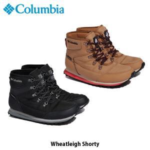 Columbia コロンビア レディース ウィートレイ ショーティ Wheatleigh Shorty ウィンターブーツ 防水 ショートブーツ 冬 シューズ BL0842 国内正規品 geak