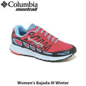 コロンビアモントレイル Columbia Montrail レディース スニーカー ウィメンズバハダ3ウィンターWomen's Bajada III Winter オフトレーニング 軽量 BL5313|geak