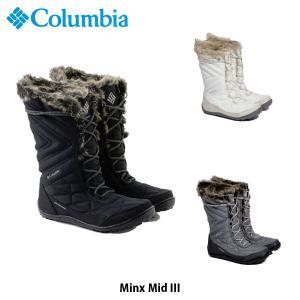 コロンビア レディース ブーツ ミンクス ミッド 3 MINX MID III 防水透湿 Columbia BL5964 国内正規品 geak