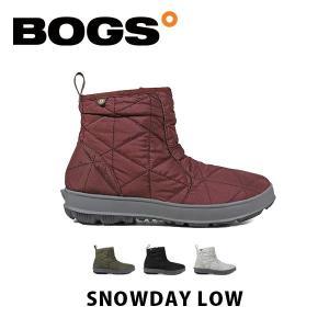 ボグス BOGS レディース ブーツ スノーブーツ スノーデイ ロー 靴 シューズ 雪 防水 ウィンター 防寒 長靴 かわいい おしゃれ SNOWDAY LOW BOG001 geak