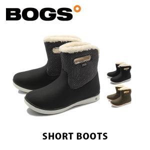 ボグス BOGS レディース ブーツ ショートブーツ ウォータープルーフ 防水 防滑 保温 ボア スノーブーツ SHORT-BOOTS BOG005 geak