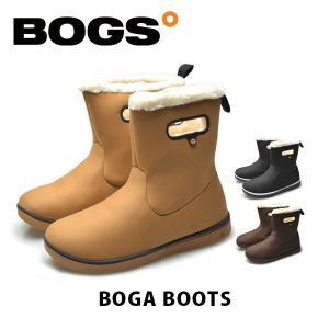 ボグス BOGS レディース ブーツ ボガ ブーツ 防水 防滑 保温 ショートブーツ スノーブーツ ファー BOGA-BOOTS BOG006 geak