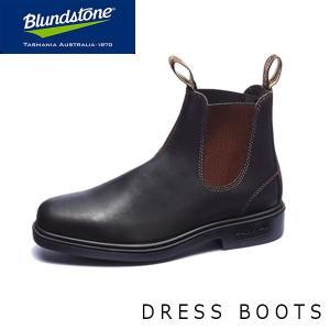 ブランドストーン メンズ サイドゴア ブーツ スクエアトゥ 062 レザー ワーク ショート スタウトブラウン Stout Brown BS062050 Blundstone BS06205023|geak