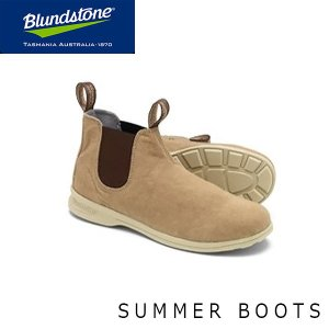 ブランドストーン メンズ サイドゴア ブーツ 1375 チャッカスタイル ワーク ショート サンド Sand 通気性 BS1375223 Blundstone BS137522323|geak