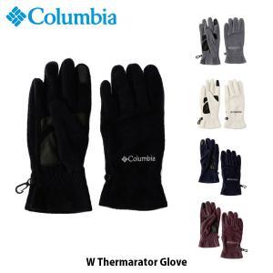 コロンビア Columbia レディース 手袋 グローブ Wサーマレイターグローブ W Thermarator Glove 保温 トレッキング ハイキング アウトドア CL0062 国内正規品|geak