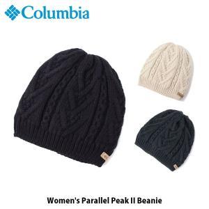 コロンビア Columbia レディース ニット帽 ウィメンズ パラレルピークIIビーニー Women's Parallel Peak II Beanie CL9391 国内正規品|geak